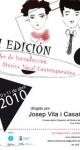 VII Taller de Introducción a la Música Vocal Contemporánea. Mayo de 2010