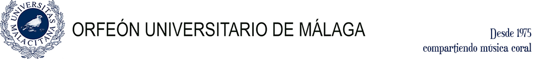ORFEÓN UNIVERSITARIO DE MÁLAGA