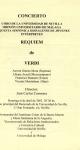Requiem de Verdi. Rectorado de la Universidad de Sevilla. 6 de abril de 2003
