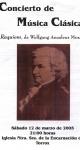 Requiem de Mozart. Torrox. 12 de marzo de 2005