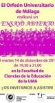 Facultad de Ciencias de la Educación. Ensayo Abierto 14 de diciembre de 2010